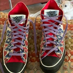 Women Harley Quinn Shoes Suicide Squad on Poshmark